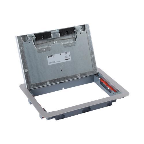 LEGRAND - Капак за подова кутия 8 мод. вертикален, 12 мод. хоризонтален монтаж метален 88003