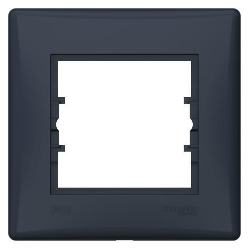 SCHNEIDER ELECTRIC - SDN5810570 влагозащитена рамка Sedna единична графит IP44