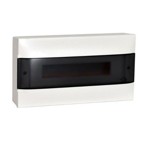 LEGRAND - Табло за открит монтаж 18 мод. Practibox S с прозрачна врата и Н и РЕ клеми 137216