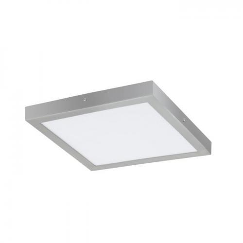 EGLO - ПЛ LED панел 25W 2500lm 4000K 400X400 сребро 'FUEVA 1' 97269