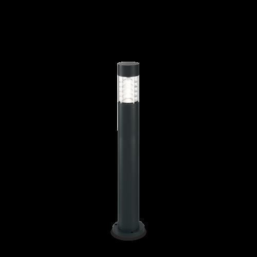 IDEAL LUX - Градински стълб  DEMA PT1 H80 NERO 248202 R7s max 1 x 60W, IP54