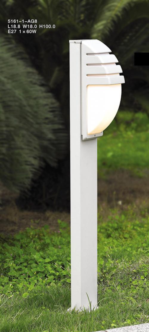 ITALUX - Градински стълб Decora 5161-1/100 ALU
