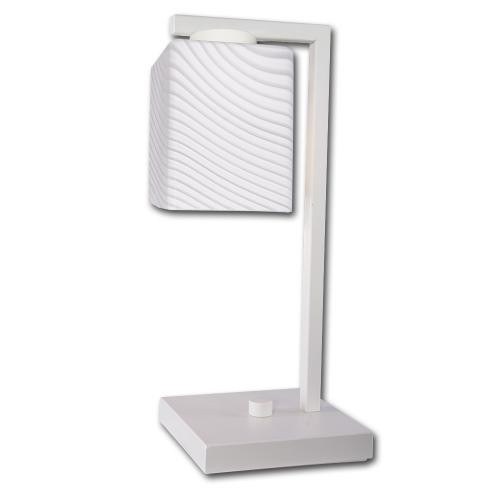 LIS LIGHTING - Нощна лампа VEGA 4634B-H01 E27, 1x40W, H35, D15cm, бяло