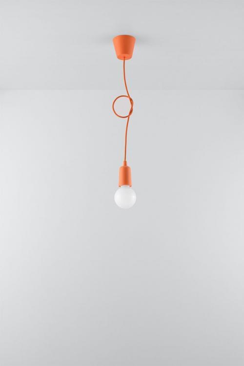 SOLLUX - Пендел  DIEGO 1 orange SL.0584