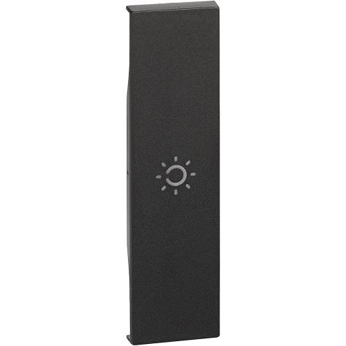 BTICINO - Лицев панел със символ лампа 1 мод. цвят черен Living Now Bticino KG01A
