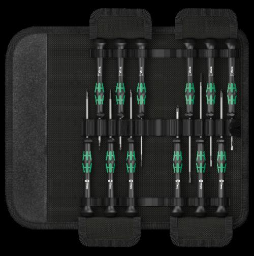 WERA - Комплект микро отвертки Kraftfortm Micro Set/12 (12 части)