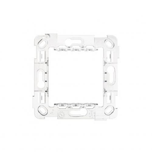 SIMON URMET - 10702N 2-module Slim mounting frame, without screws, for ø 60 mm mounting boxes