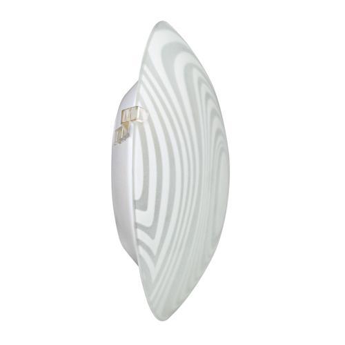 ULTRALUX - GPLE14L11 Стъклена плафониера, кръг L11, Е14, 220V-240V AC, IP20