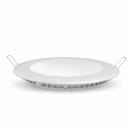 V-TAC PRO - 18W LED Панел Premium SAMSUNG Чип Кръг 4000K SKU: 719, 3000К-718, 6400К-720 VT-618RD