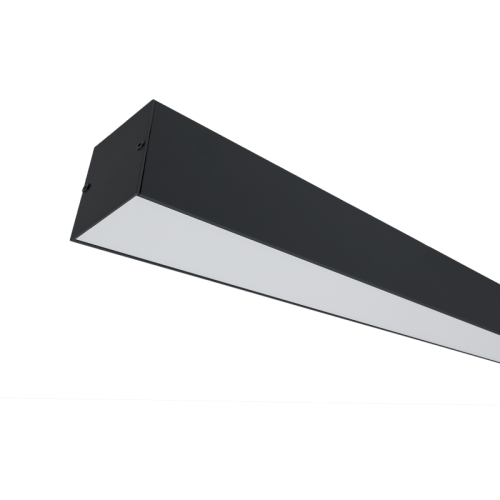 ELMARK - LED ПРОФИЛ ЗА ОТКРИТ МОНТАЖ S36 20W 4000K ЧЕРЕН  99SM36S4020/BL