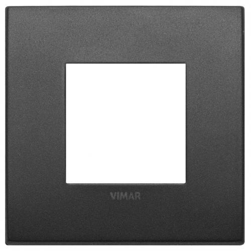 VIMAR - 19642.01 -Arke  Двумодулна рамка Classic matt graphite