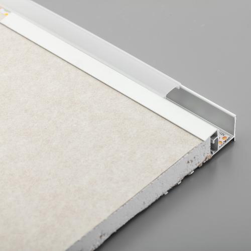 GTV Lighting - Алуминиев профил за лед лента за вграждане в гипсокартон 3м. PA-GLAXGKW3M-00