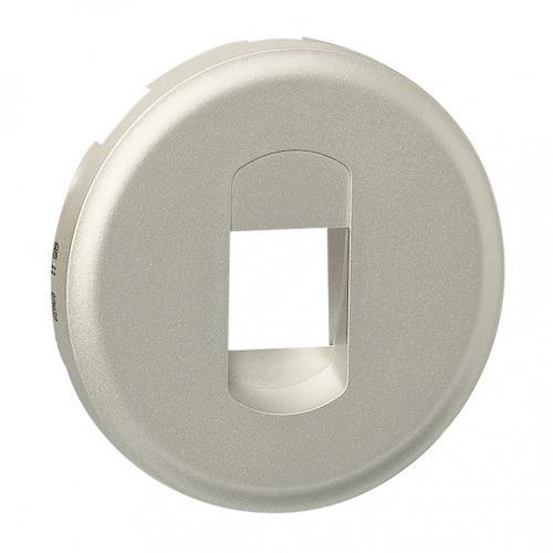 LEGRAND - Лицев панел за единична розетка за тонколони Celiane  68511 титан