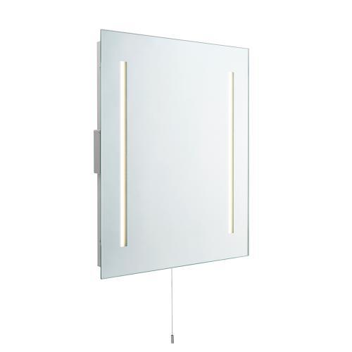 SAXBY - Светещо огледало 72360 GLIMPSE shaver mirror IP44 LED 2X4W, K4150, 240LM