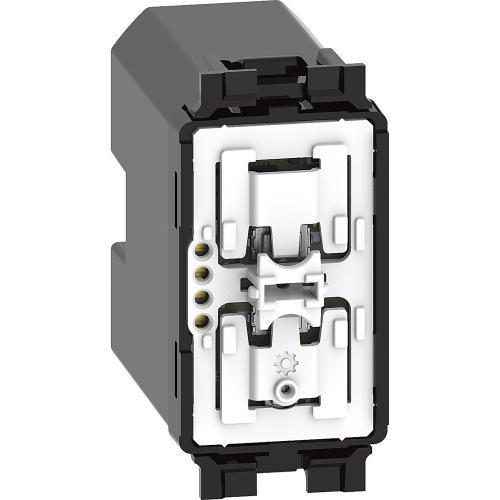 BTICINO - Безжичен ключ за монтаж в конзола 1 мод. Living Now с Netatmo K4003CWI