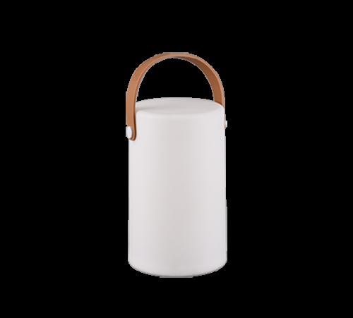 TRIO - Градински фенер  бял влагозащитен IP44 ARUBA – R57080101