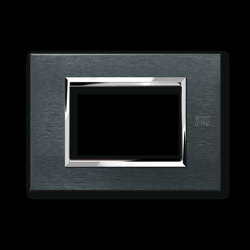 SIMON URMET - 13003.AK Karbon Aluminum Expi тримодулна рамка