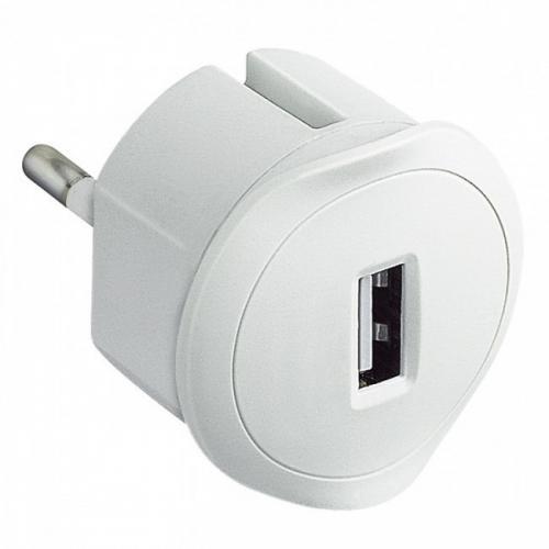 LEGRAND - 50680 Зарядно за контакт USB 1.5A 5V 230V бяло