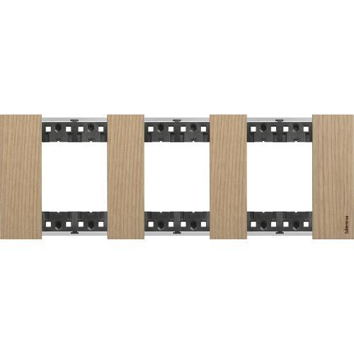 BTICINO - Рамка 3x2 мод. немски стандарт цвят Дъб Living Now Bticino KA4802M3LM