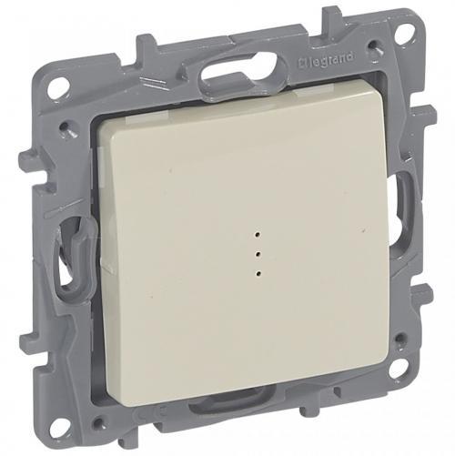 LEGRAND - 664618 NILOE Kлюч за бойлер двуполюсен 16A светлинна индикация 1/0 крем