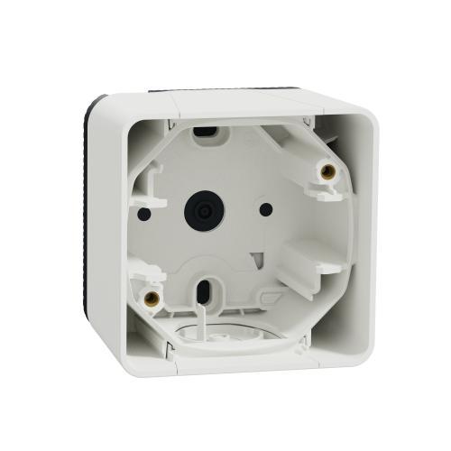 SCHNEIDER ELECTRIC - Конзола единична IP55 Mureva  цвят Бял MUR39911