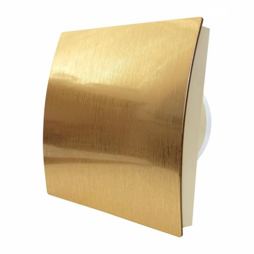 MMOTORS - Вентилатор за баня MM-P/01, злато, овал