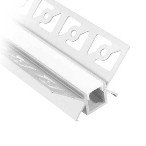 V-TAC - Алуминиев Профил за Вграждане Вътрешен Ъгъл 2000мм Мат SKU: 3362 VT-8104