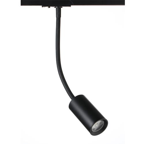 ACA LIGHTING - OLIV1030B2 BLACK LED TRACK LIGHT 10W 3000K 2WIRES 24° 850LM 230V Ra80