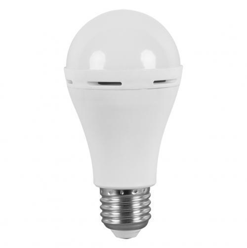 ULTRALUX - LBE62742 LED Крушка с вградена батерия А60 6W E27 4200K