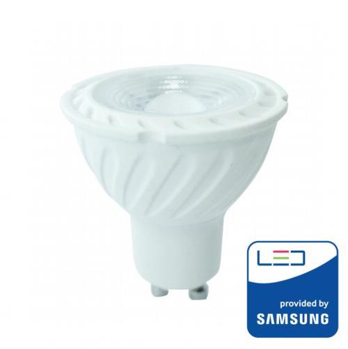 V-TAC PRO - LED Крушка SAMSUNG ЧИП 7W GU10 38° 3000K SKU: 165 VT-277, 4000К-166, 6400К-167