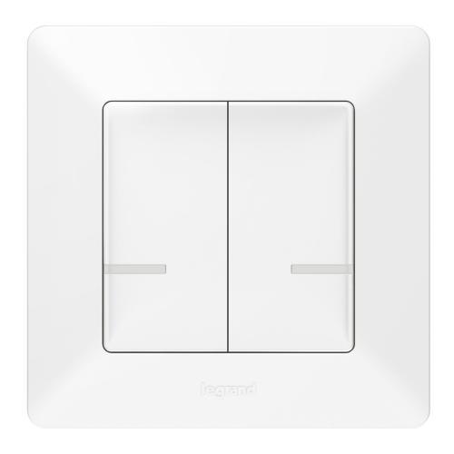 LEGRAND - Свързан сериен ключ безжичен Netatmo 752187 Valena Life