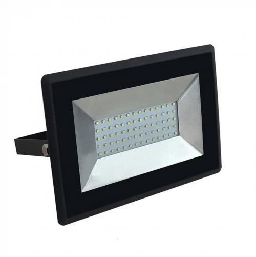 V-TAC - 50W LED Прожектор E-Series Черно Тяло 3000K SKU: 5958 VT-4051, 4000K-5959, 6000K-5960
