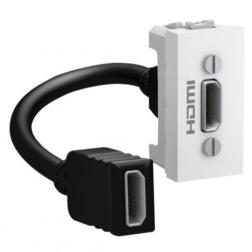 SCHNEIDER ELECTRIC - MGU3.430.18 HDMI излаз UNICA бял