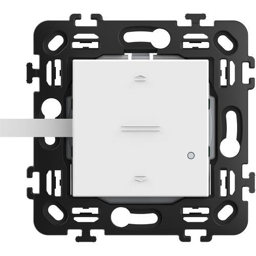 BTICINO - RW4027CW Ключ за щори Smart БЕЗжичен с 2 мод. носеща рамка цвят Бял Classia Bticino с Netatmo