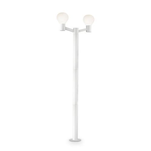 IDEAL LUX - Парков стълб CLIO PT2 Bianco 147086