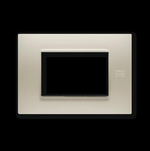 SIMON URMET - 13003.SB Sand Technopolymer Flexa тримодулна рамка