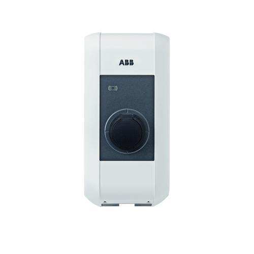 ABB - Зарядна станция 3P 22 kW IP54 с RFID за електрически автомобили 2P 4,6 kW IP54 EVLunic 6AGC070442