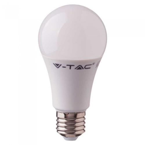 V-TAC - LED Bulb 10W E27 A60 CRI >95 Plastic 4000K SKU: 7480 VT-2210,  2700К-7479, 6400К-7481