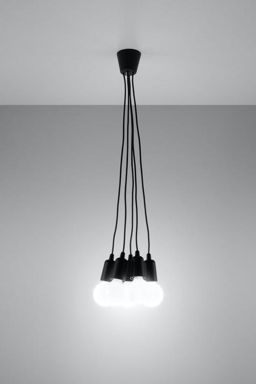 SOLLUX - Пендел  DIEGO 5 black  SL.0574