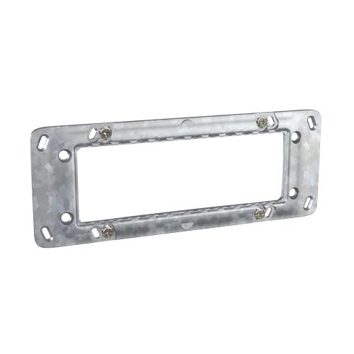 SCHNEIDER ELECTRIC - MGU7.106 Unica - rectangular fixing frame - 6 m - 1 gang
