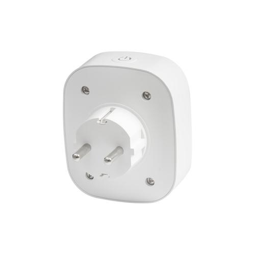 ULTRALUX - WFP16A Wi-Fi Smart контакт, единичен, 16А, 3500W, 220-240V AC