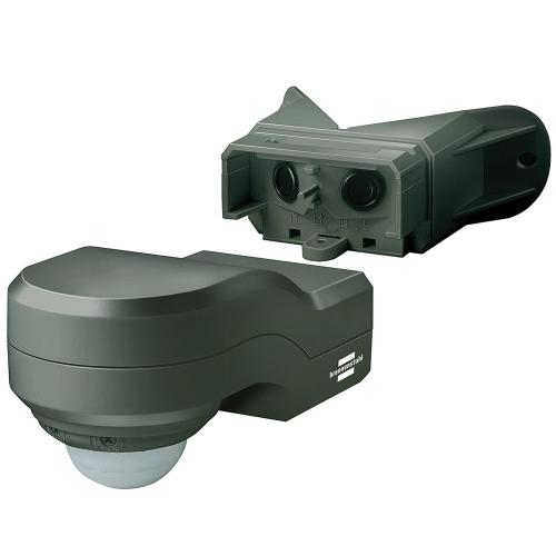 BRENNENSTUHL - PIR сензор, PIR240, 12m, IP44, влагозащитен,ъглов. черен, 1171910