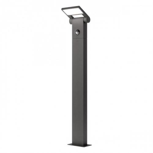 REDO GROUP - Градински стълб със сензор VARIAL  9696  ST70 LED SMD 10W SEN DG 3000K IP54