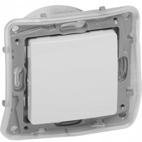 LEGRAND - 764514 Девиаторен ключ влагозащитен IP44 Niloe бял