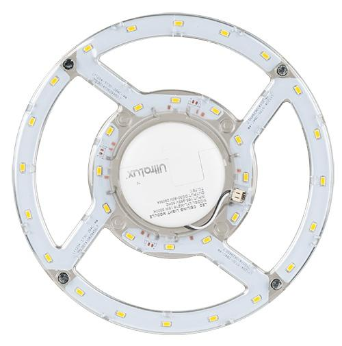 ULTRALUX - LMP1630 МАГНИТЕН LED МОДУЛ ЗА ПЛАФОНИЕРИ, 16W, 3000K, 220V