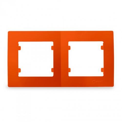 MAKEL - Двойна рамка оранжева Lillium Natural Kare 32094702