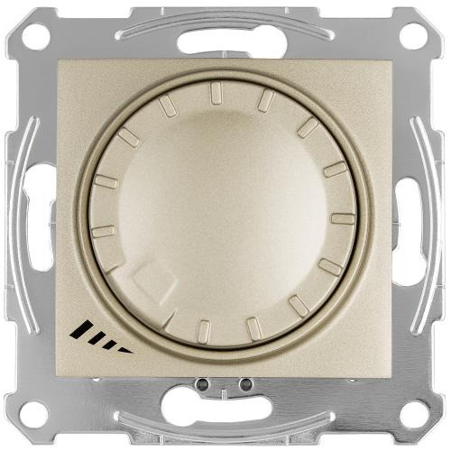SCHNEIDER ELECTRIC - SDN2201268 Бутонен димер ротативен за LED лампи 400 W, титаний