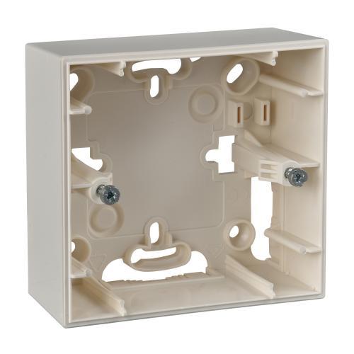 SCHNEIDER ELECTRIC - MGU8.002.25 Конзола за открит монтаж Unica слонова кост