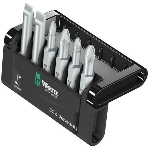 WERA - Комплект битове Mini Checks 50мм 2х800/4Z 2xPH 2xPZ 05056474001