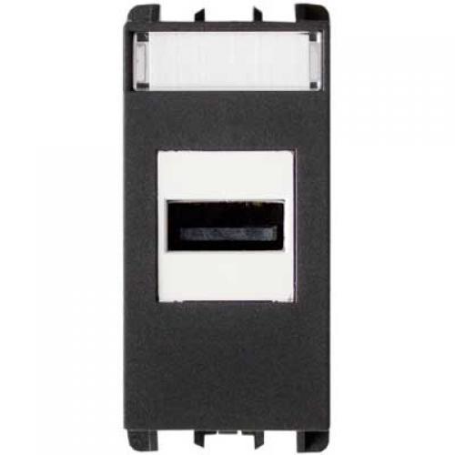 SIMON URMET - 10451 USB захранване антрацит
